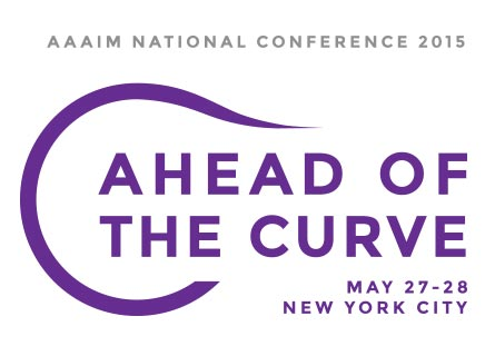 AAAIM National Conference 2015 - Ahead of the Curve